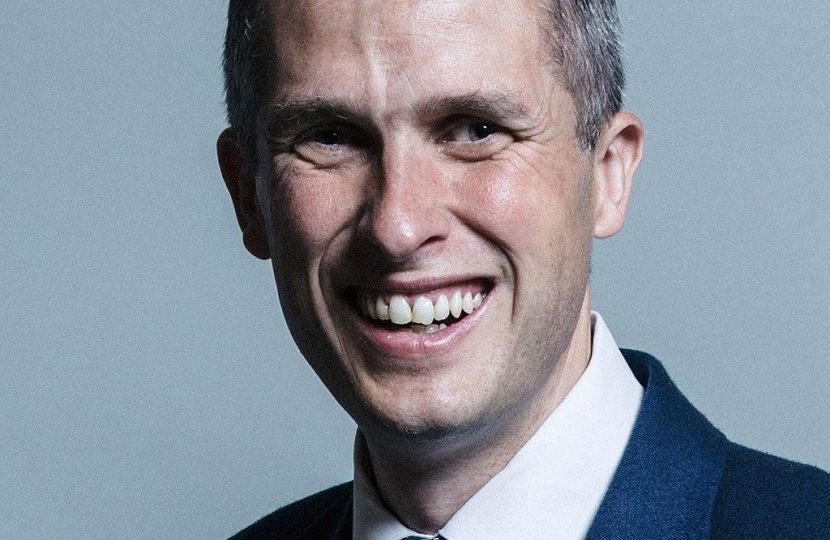 Rt Hon. Gavin Williamson
